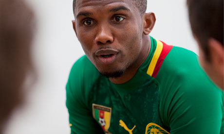 Eto'o talks