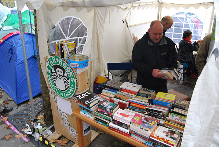 Occupy libraries : Occupy libraries picture by Richard Lea