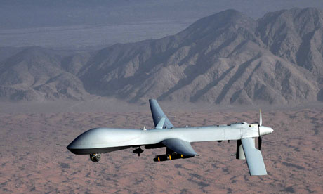 Unmanned MQ-1 Predator drone aircraft