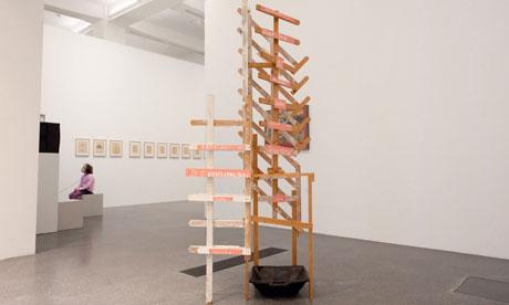 The damaged Martin Kippenberger artwork