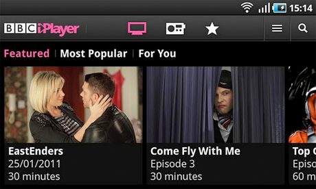 iPlayer for Android
