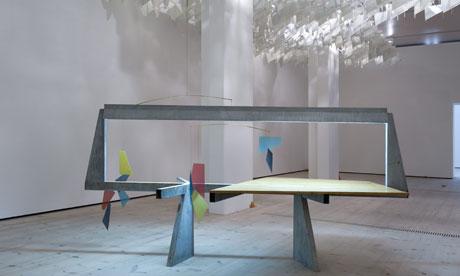 Martin Boyce installation Do Words Have Voices