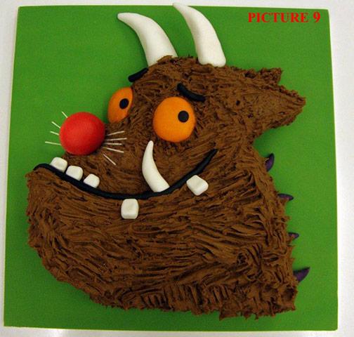 gruffalo cake recipe