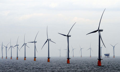 Thanet wind farm from Gaurdian