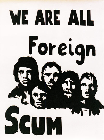 We are all foreign scum poster