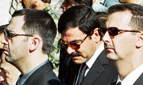 Bashar and Maher al-Assad