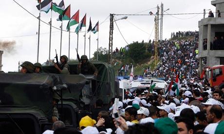 Lebanon Nakba Day protests