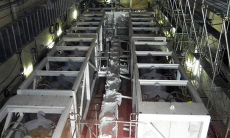 The caesium absorption tower at Fukushima