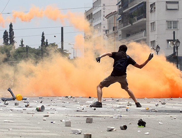 Athens Riots Athens riots: Greek general strike, day 2 - in pictures
