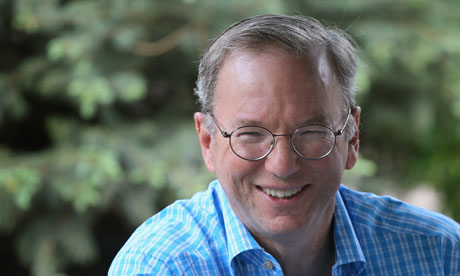 Eric Schmidt at Sun Valley