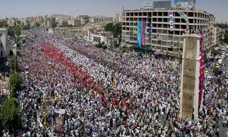 Syria: Hama protest