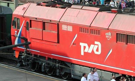 Kim Jong-il's train in Ulan-Ude