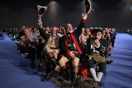 Audience at Republican debate in Orlando