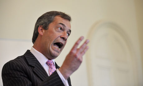 Nigel Farage UKIP Press Conference