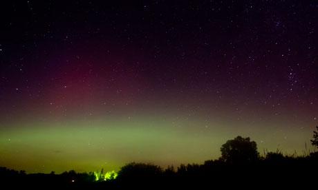 Aurora Borealis on September 27 over Northern Minnesota