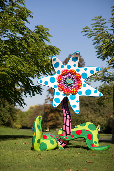 Frieze Art Fair: 'Flowers That Bloom Tomorrow, 2011' by Yayoi Kusama