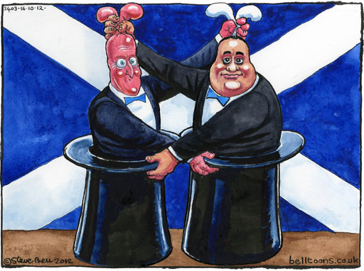 David Cameron Alex Salmond Scottish independence referendum