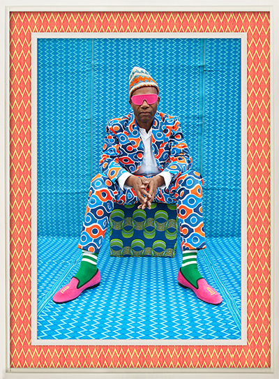 Hassan Hajjaj portraits: Joe Casely-Hayford