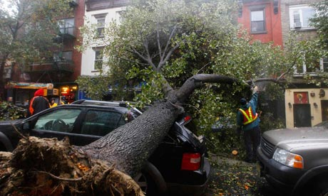 Hurricane Sandy update