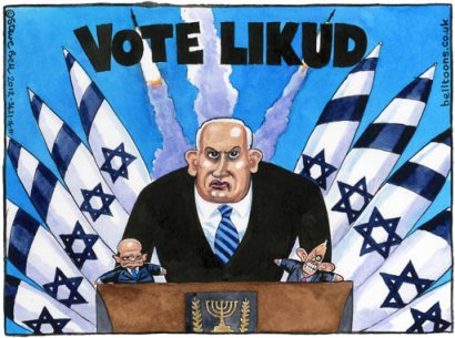 netanyahu election war