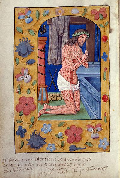 Henry VIII's love note in Anne Boleyn's Book of Hours