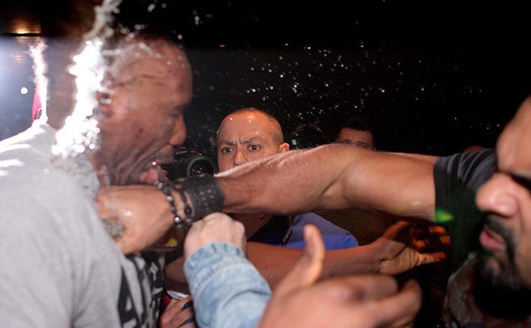 Chisora and Haye brawl: Haye v Chisora gallery 4