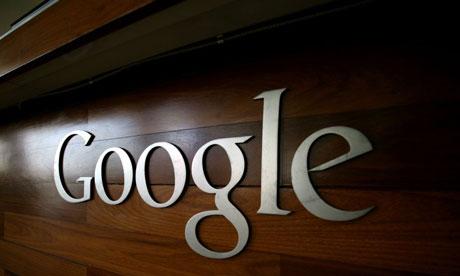 google wooden logo