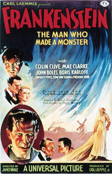 Top Selling Film Posters: Top Selling Film Posters - Frankenstein, 1931