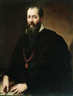Fig. 1) Giorgio Vasari, Autoritratto, Firenze, Galleria degli Uffizi