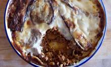 Tessa Kiros recipe moussaka