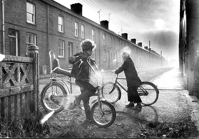 The history of Raleigh: child on a Raleigh Chopper