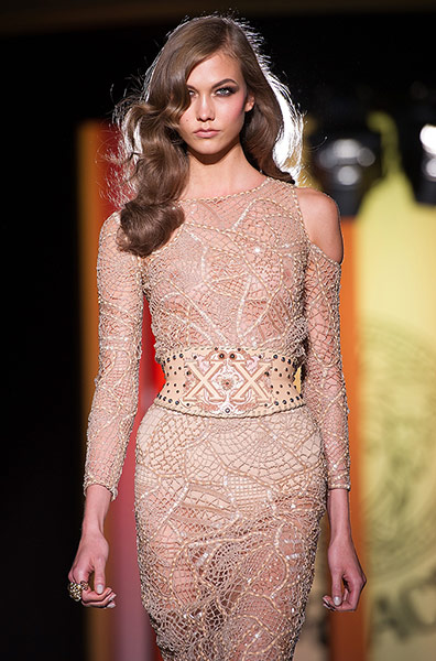 Versace guests: Versace: Show - Paris Fashion Week Haute Couture F/W 2013