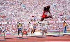vegetarian olympiads: Edwin Moses