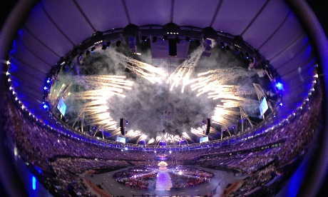 the closing ceremony of the Games