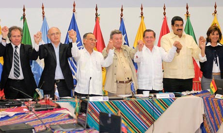 Unasur meeting in Guayaquil