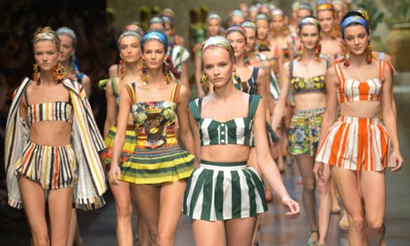 Dolce & Gabbana Spring/Summer 2013 collection at Milan Fashion Week