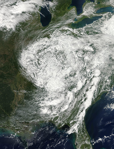 Satellite Eye: Hurricane  Isaac