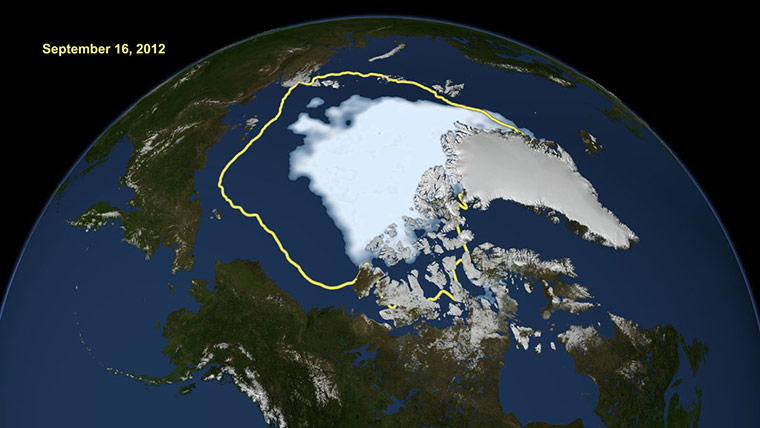 Satellite Eye: Arctic Sea Ice