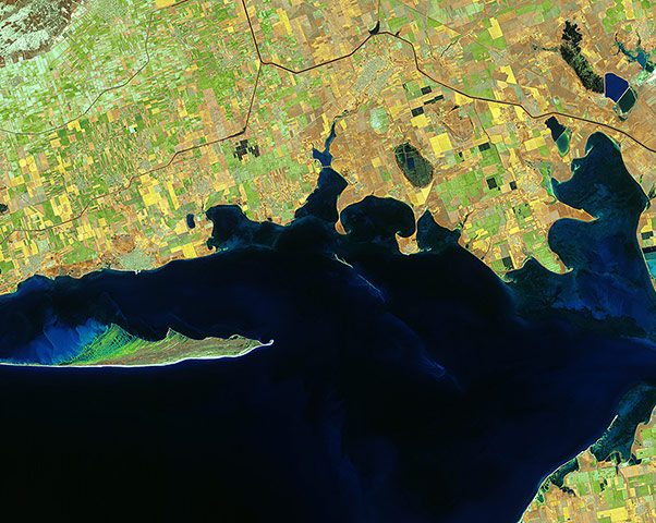 Satellite Eye: The southern Ukrainian coast along the Black Sea