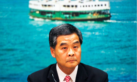 Hong Kong Chief Executive Leung