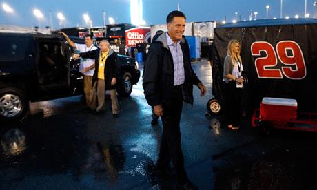 Mitt Romney Nascar
