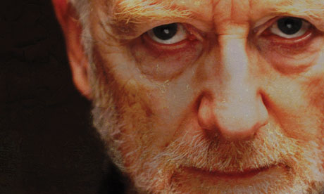 Ian McDiarmid in the poster for A Life of Galileo
