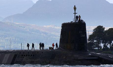 Trident submarine