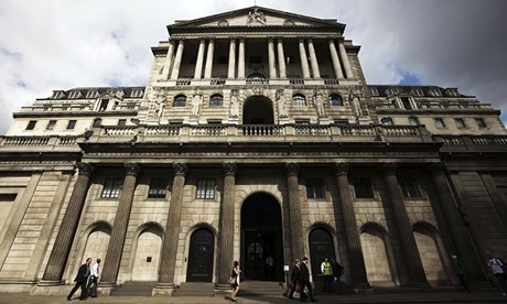 Bank of England has warned it may be necessary to raise interest rates by 2014
