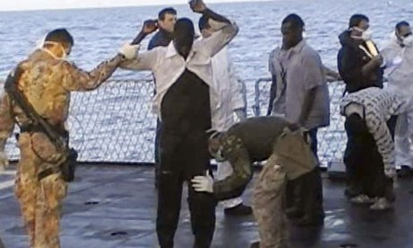 Migrants rescued off Lampedusa