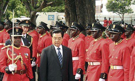 Hu Jintao Dar es Salaam