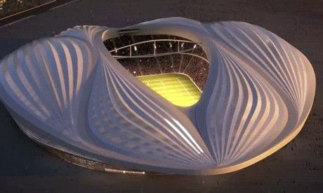 FIFA world cup Al Wakrah stadium