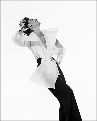V&A: Italian fashion: Gianfranco Ferre advert