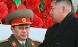Kim Jong-un, with his uncle Jang Song-thaek