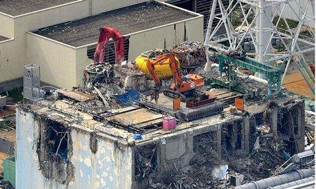 Fukushima reactor number 4
